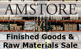 Amstore Finished Goods & Raw Materials Sale