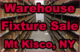 Warehouse Fixture Sale